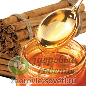 Маска из меда и корицы для лица