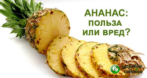ананас польза и вред для здоровья